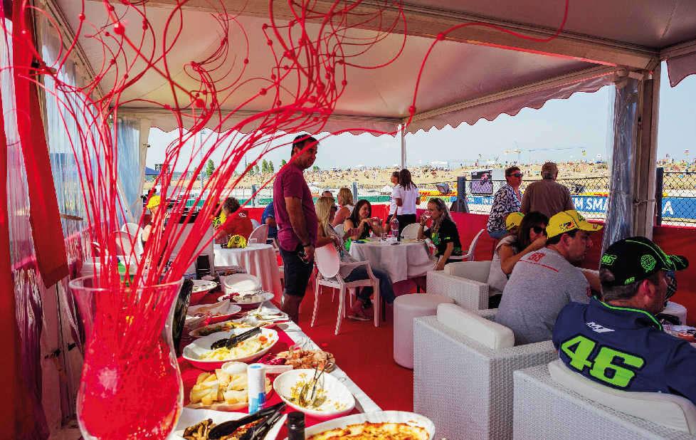 San marino catering