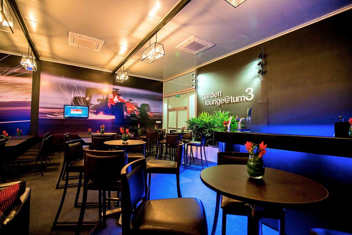 Singapore indoor seating