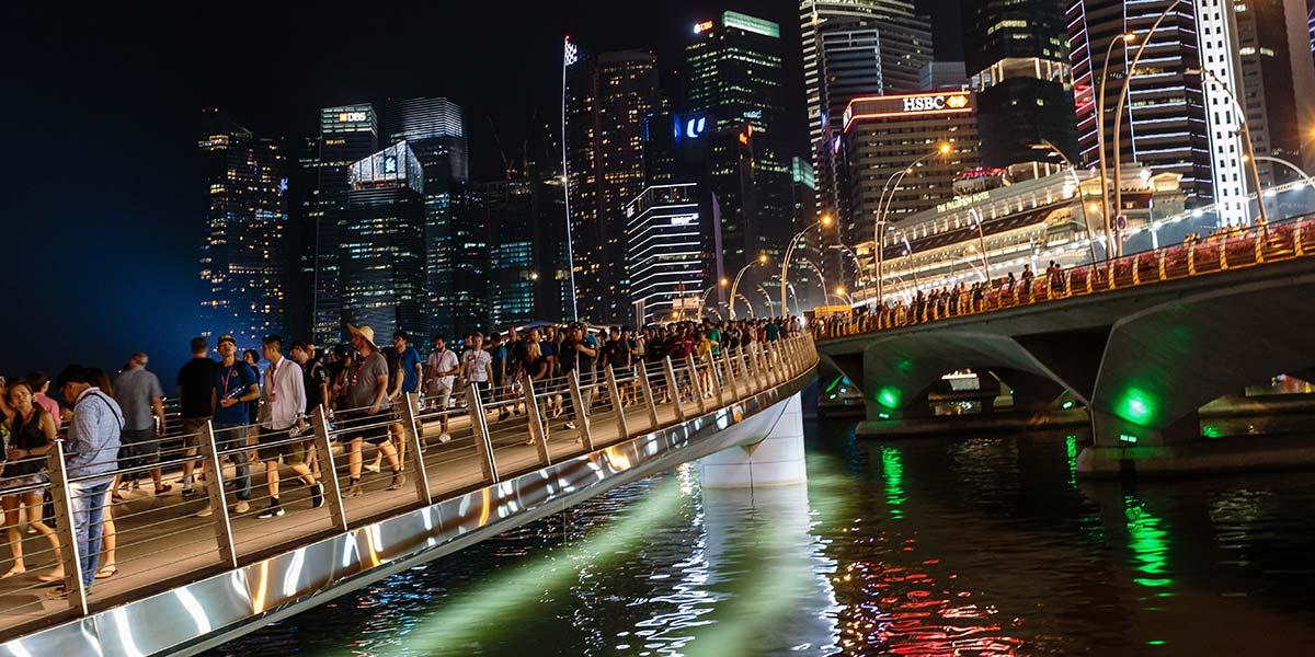 Formel 1 Großer Preis von Singapur 2019 ANREISE & PARKEN AM RENNWOCHENENDE - So erreichen Sie den