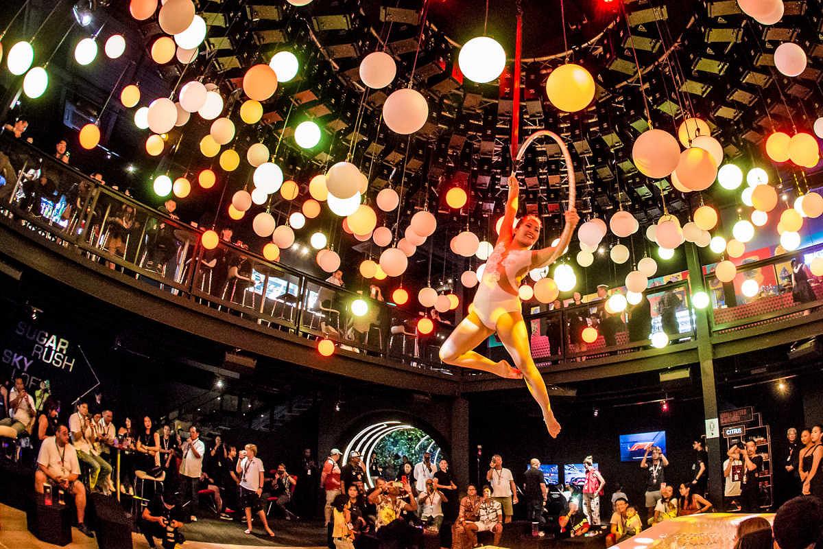 Singapore twenty3 party atmosphere
