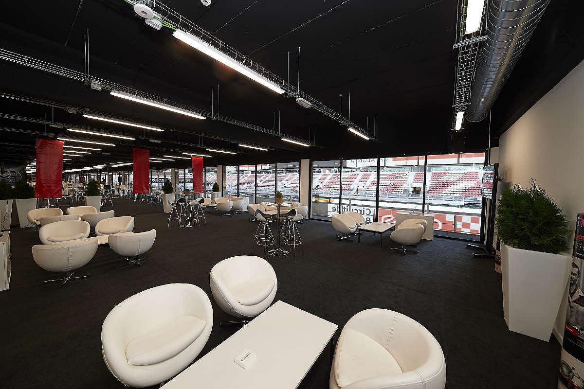 Spain lounge area