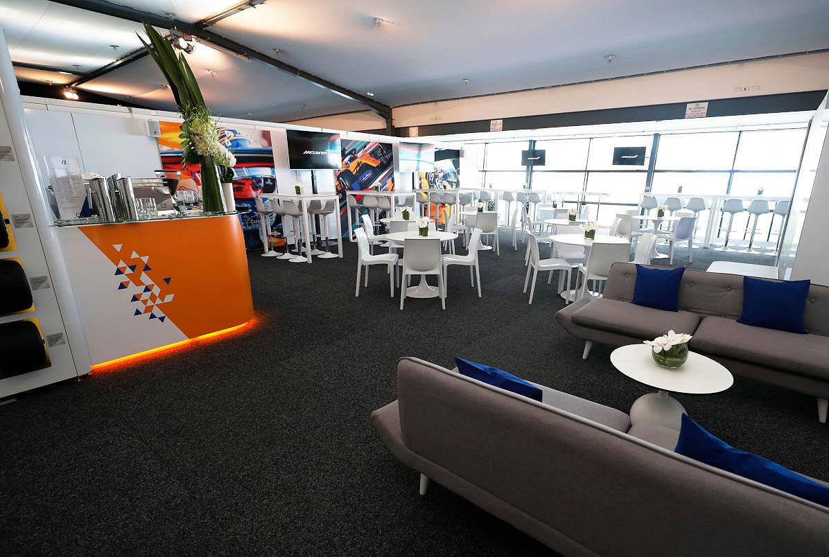 Spain mclaren f1 experience private suite