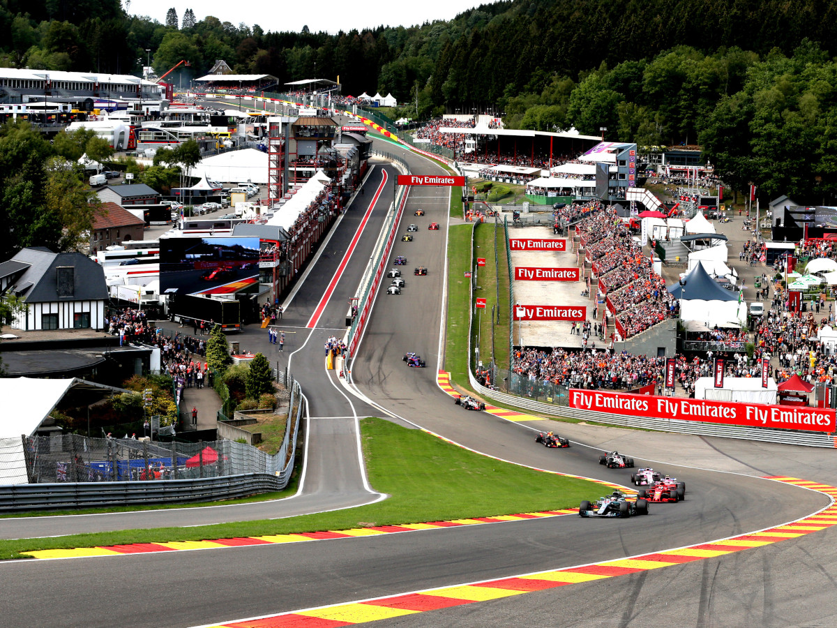 The History of the Belgian Grand Prix