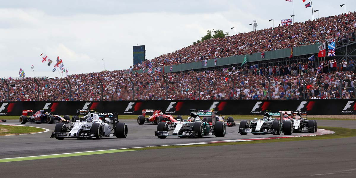 Silverstone, the British F1 race track