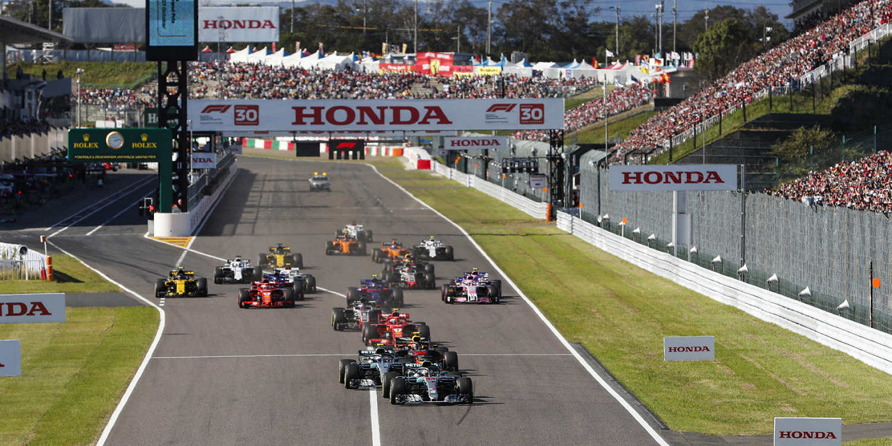 Japanese Formula 1 Grand Prix 2019 ENTRY TICKETS - General Admission, Grandstand, and Hospitality