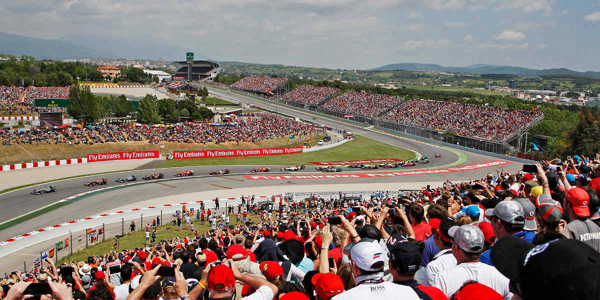 Spanish Formula 1 Grand Prix 2020 ENTRY TICKETS - General Admission, Grandstand, and Hospitality