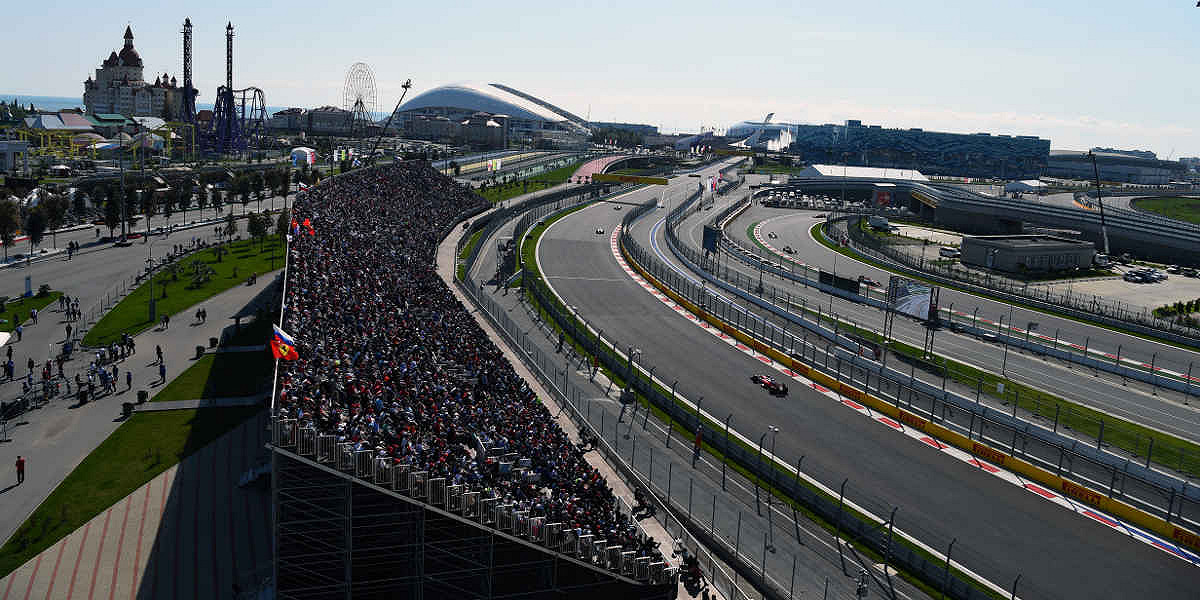 Sochi Autodrom, the Russian F1 race track