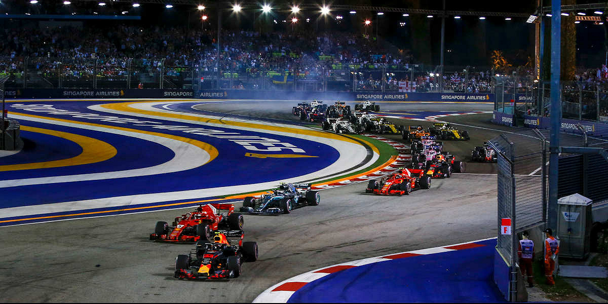 FORMULA 1 SINGAPORE AIRLINES SINGAPORE GRAND PRIX 2019 2019 ENTRY TICKETS - General Admission, Grandstand, and Hospitality