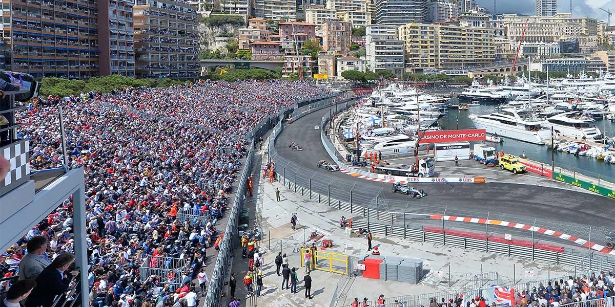 Circuito de Mónaco, circuito de F1 de Mónaco