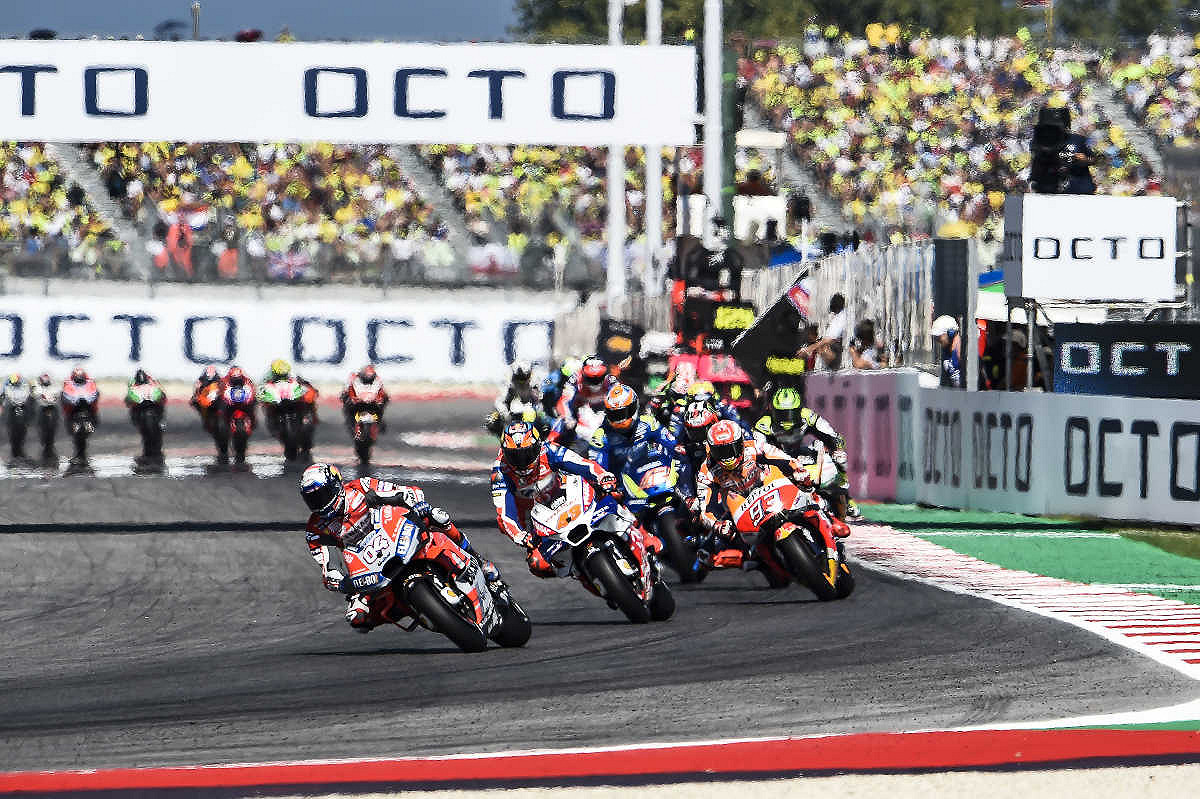 San Marino MotoGP 2019 ENTRY TICKETS - General Admission, Grandstand, and Hospitality
