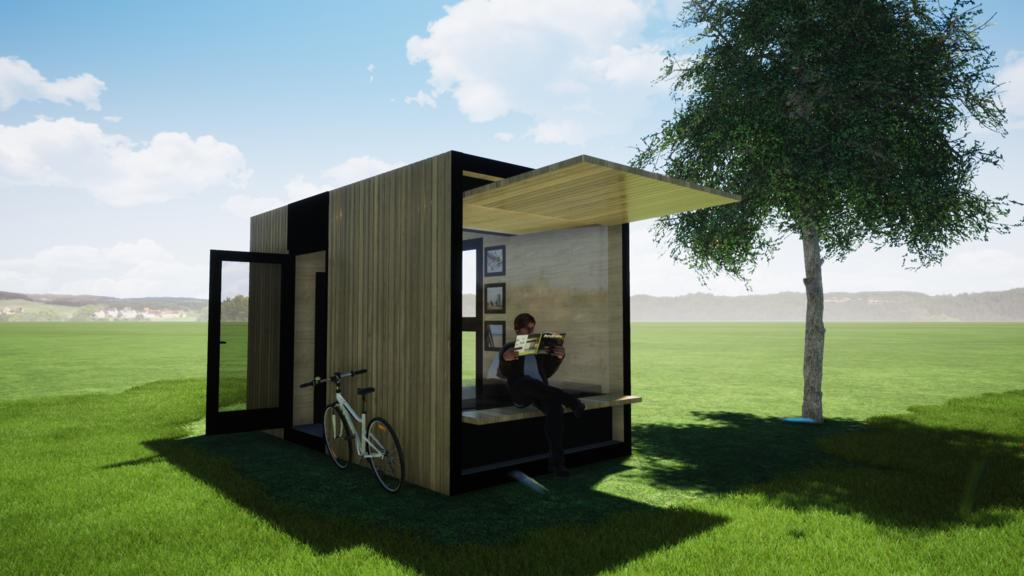 Luxury Tiny-House - 4 People