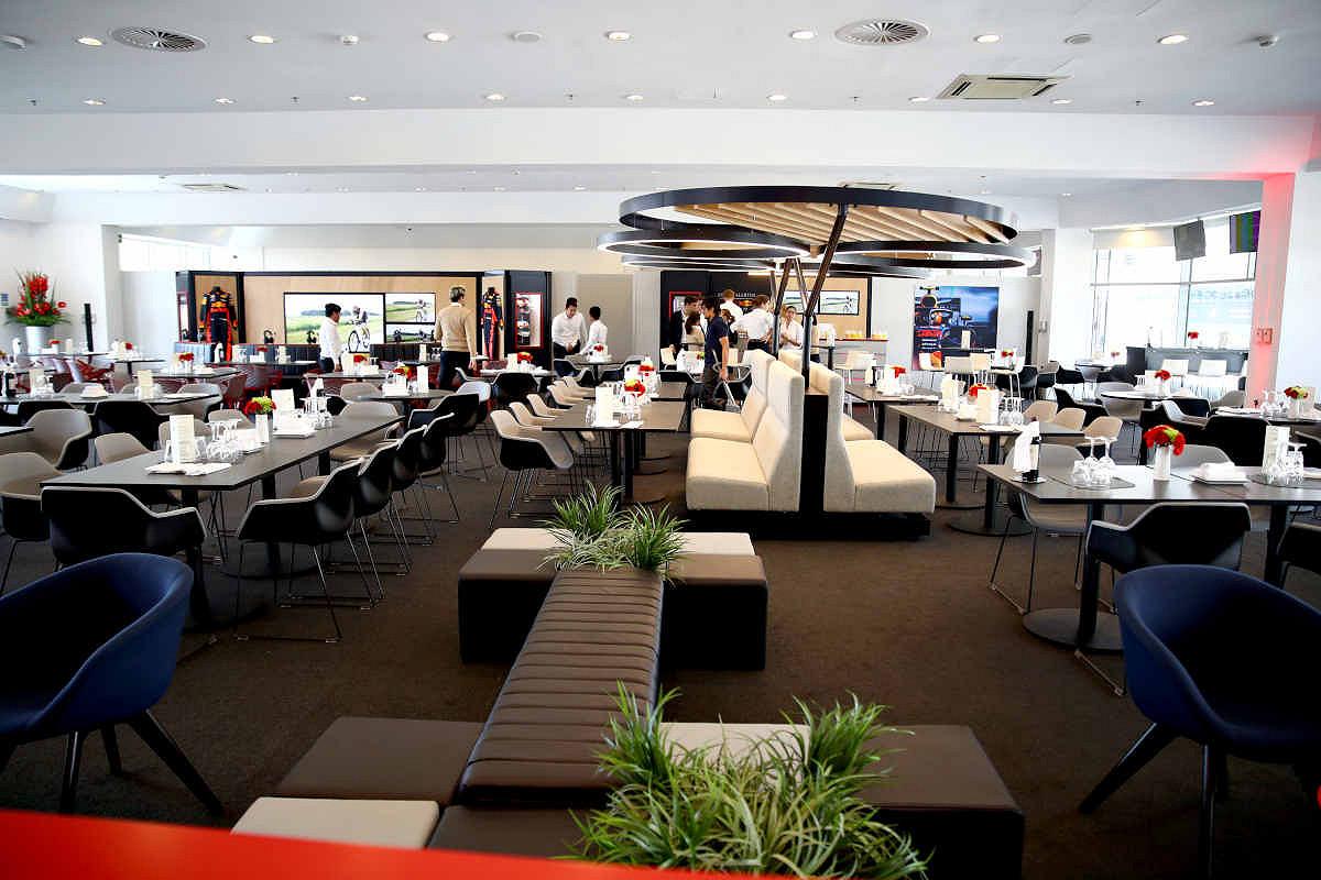 Vietnam aston martin red bull racing paddock club  suite