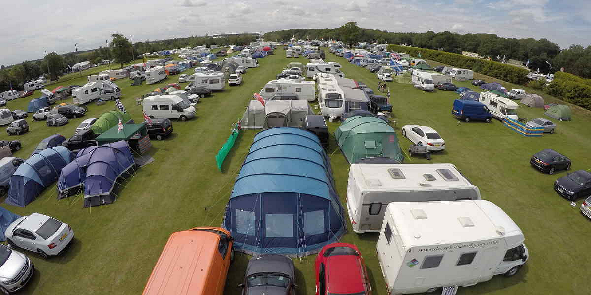 Whittlebury camping areas