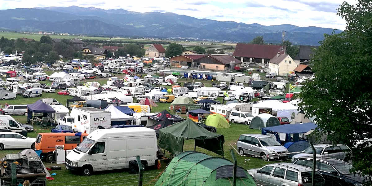 Red Bull Ring Yellow Campsite