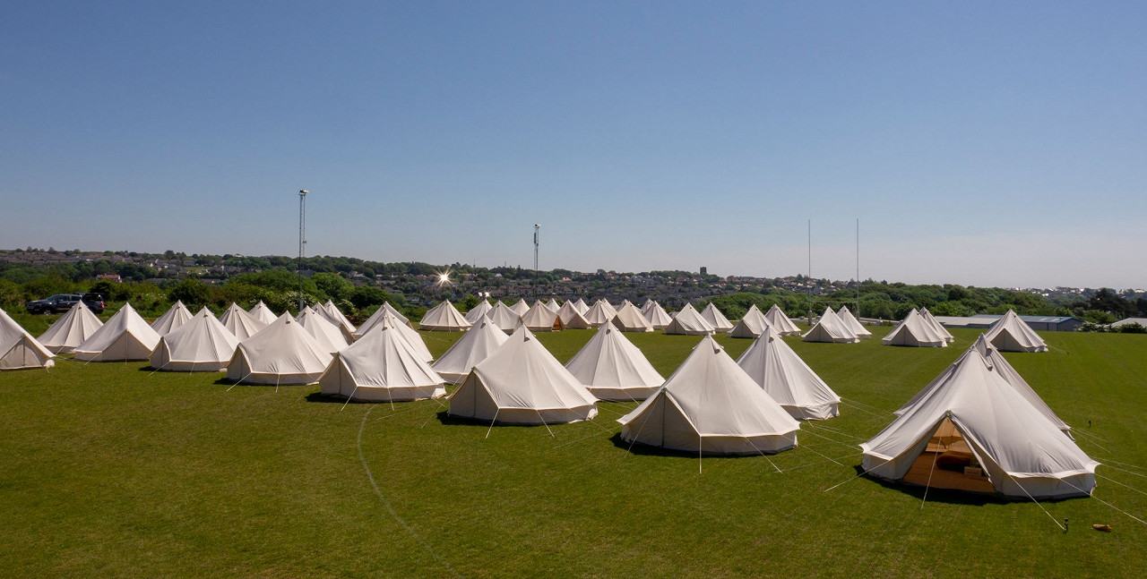 4 Night Zoo Bell Tents Race Break Two (4 Persons)