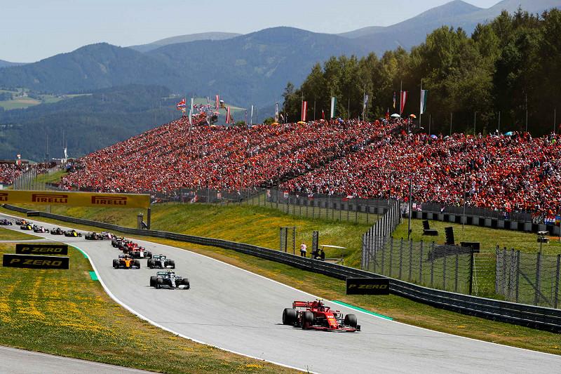 Formel 1 Großer Preis von Österreich 2020 TICKETS - Stehplätze, Tribünen und VIP-Pakete